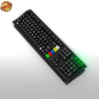 keyboard computer 3d model