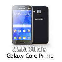 galaxy samsung core 3d model