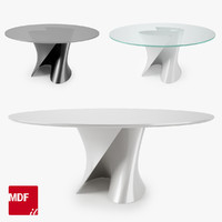 3d model of mdf italia s table