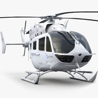 Eurocopter EC 145 Generic White