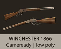 3ds max gameready winchester 1866