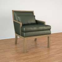 ecart international 1930 armchair 3d max