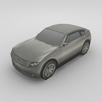 infiniti triant car 3d model
