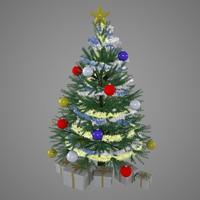 xmas tree 3d model