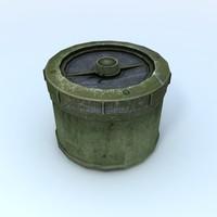 landmine land 3d max