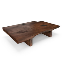 hudson live edge coffee table obj