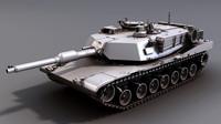 m1a2 sep abrams tank 3d model