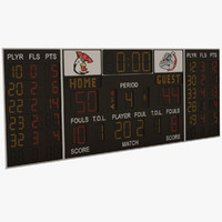 scoreboard score board 3d 3ds