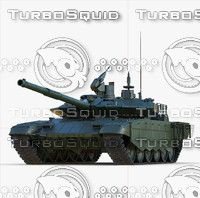 Russian Main Battle Tank T-90SM