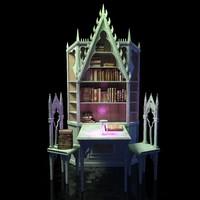 Gothic-bookcase