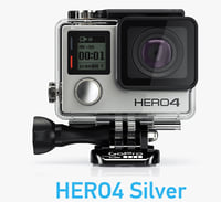 GoPro HERO4 Silver Edition Case