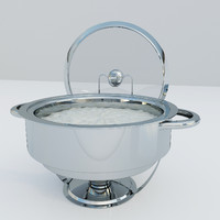 chafing dish 3d 3ds