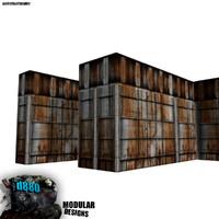 tiling modular wall 3d model