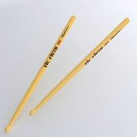 drumsticks drum sticks 3ds