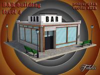 bar level 4 3d model