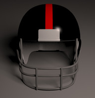 gridiron american football helmet 3d max