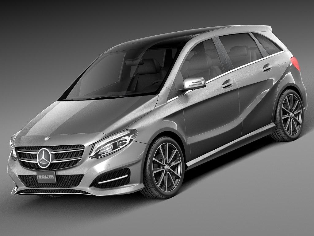 2015 mercedes mercedes benz 3d model for Mercedes benz 2015 models