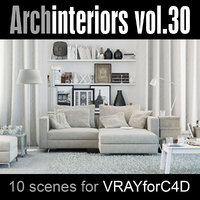 3d model archinteriors vol 30 style interior