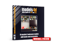 cinema4d vol 10 bookcases book