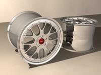 car rims 3d max