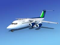 turbines bae jet 3d dxf