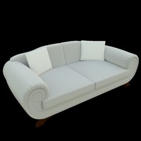 3d couch sofa pillows 1