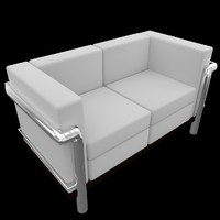 3ds couch sofa uv