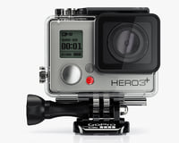 camera gopro hero3 black 3d 3ds