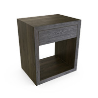 HUDSON CHARCOAL END TABLE