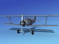 pt-17 propeller air 3d model