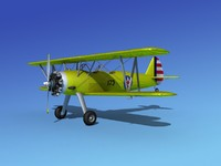 3d 3ds pt-17 propeller air