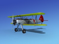 3d pt-17 propeller air model