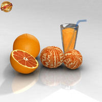 3d orange pulp