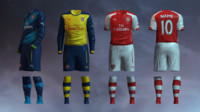 Arsenal FC 2014/2015 Jerseys