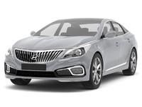 hyundai azera grandeur 2015 3d model