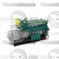 3d motor generator gdg90