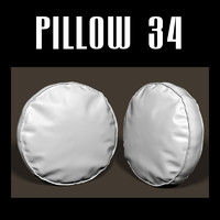 pillow chairs sofas 3d model