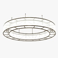 lamp ring light 3d max