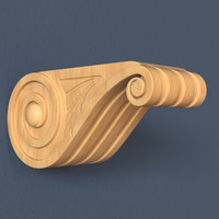 3d model corbel