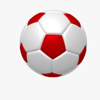 3d soccer football ball