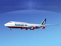 boeing 747 747-8 747-8i 3d model