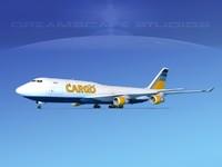 boeing 747 747-8 747-8i obj