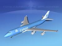 3d boeing 747 747-8 747-8i