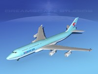 boeing 747 747-8 747-8i 3ds