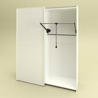 pantograph clothes 3d model