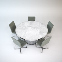 modern table chairs max free