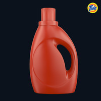 tide bottle 2 3d max