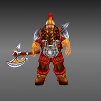 gnome fantasy 3d model