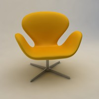 lightwave swan chair