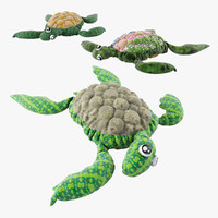 3d turtle toy